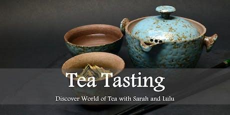 Tea Tasting: Explore the World of Tea with Sarah and Lulu tickets