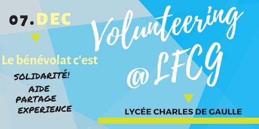 Volunteering  @LFCG