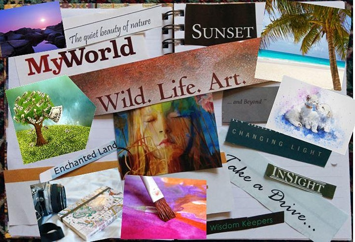 Discover and manifest your desires with a Vision Board class image