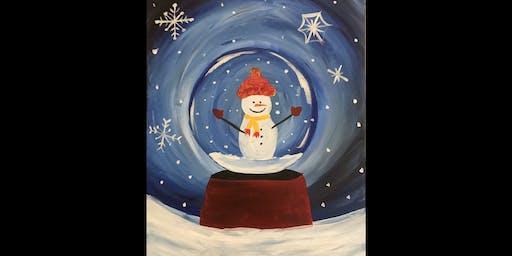 Snow Globe...Paint'N Pajamas
