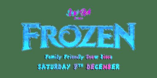 Frozen Family Friendly Snow Disco
