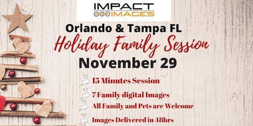 Orlando And Tampa Impact Images Studio Holiday Shoot