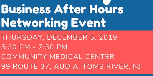 Community Medical Center Business After Hours - 2019