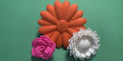 Design and Print a 3D  Floral Brooch