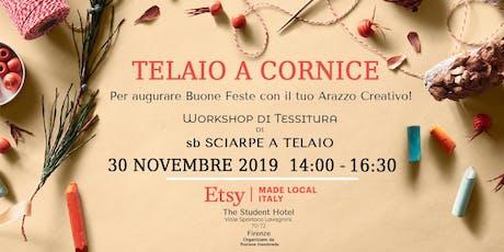 Telaio a Cornice  - Workshop di Tessitura di Sb sciarpe a telaio biglietti