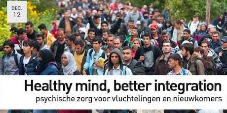 "Symposium ""Psychische zorg vluchtelingen en nieuwkomers"" tickets"