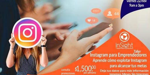 Taller Instagram para Emprendedores