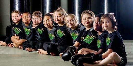 FREE Beginner Kids Karate for Concentration Workshop