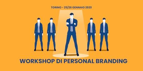 Workshop di Personal Branding a Torino biglietti