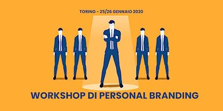Workshop di Personal Branding a Torino tickets
