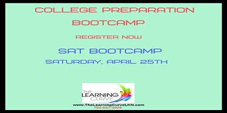 SAT Bootcamp, Saturday, April 25, 2020 tickets