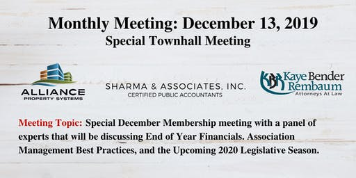 "December 2019 Broward Coalition ""Special"" Membership Meeting"