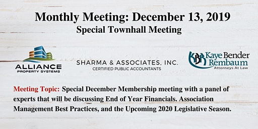 "December 2019 Broward Coalition ""Special"" Membership Meeting"