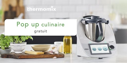 Pop-up! culinaire Thermomix® GRATUIT// La Malbaie