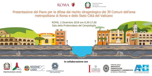 Difesa dal rischio idrogeologico dei comuni dell'area metropolitana di Roma