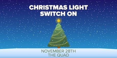 Christmas Lights Switch On Celebration! tickets
