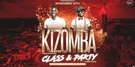 """Saturday night kizomba party """"The last of the year"""" tickets"""