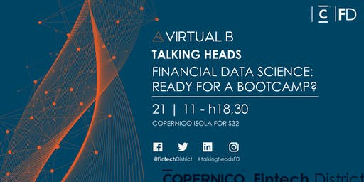 Talking Heads - Financial Data Science: Ready for a bootcamp?