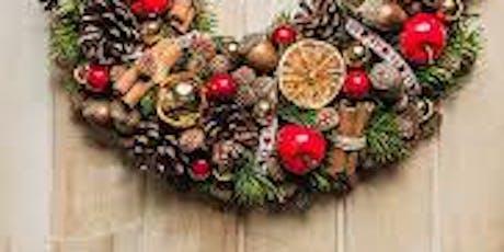 Xmas wreath making Saturday morning tickets