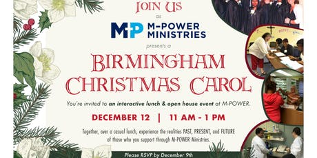 A Birmingham Christmas Carol tickets