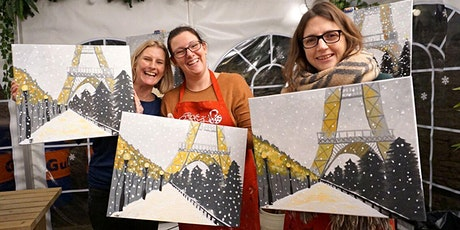 Winter in Paris Brush Party - West Ealing tickets