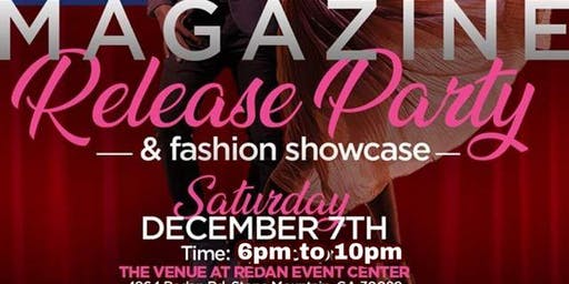 MAGAZINE RELEASE PARTY & FASHION SHOWCASE