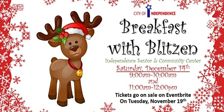 Breakfast with Blitzen - City of Independence tickets