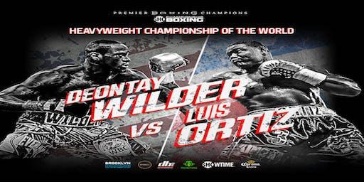 Barnacles Wilder vs Ortiz II Saturday Night Nov 23rd