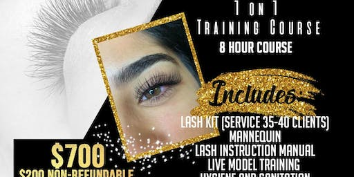 Copy of Learn to Lash Eyelash Extension Course
