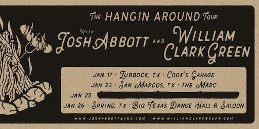 1.23 | JOSH ABBOTT + WILLIAM CLARK GREEN | THE MARC | SAN MARCOS TX