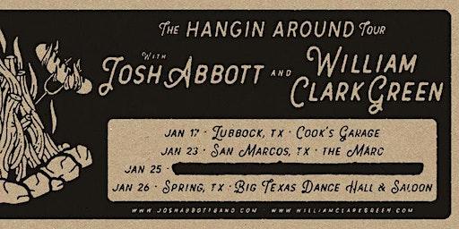 1.23 | JOSH ABBOTT + WILLIAM CLARK GREEN | THE MARC | SAN MARCOS TX