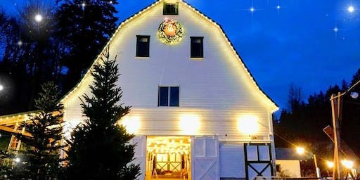 DEC 1st: Barn and Tree Lighting/Holiday Sing-A-Long