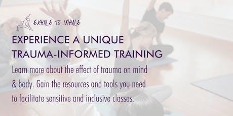Trauma-Informed Yoga Training at lululemon tickets
