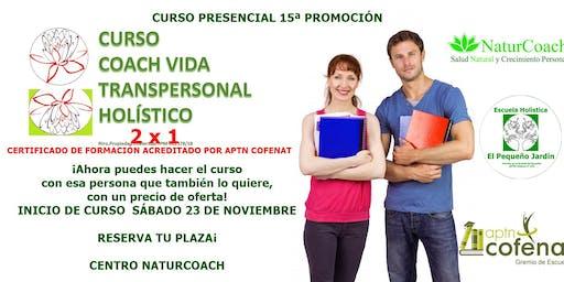 CURSO  COACH TRANSPERSONAL HOLISTICO. Oferta 2x1