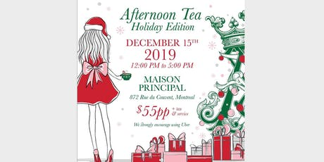 Holiday Afternoon Tea billets