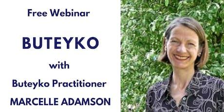 Free Webinar on the Buteyko Method - Thursday, 21 November at 8-9pm Sydney. tickets