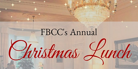 Annual FBCC Christmas Lunch tickets