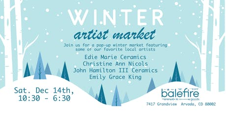 Holiday Artist Market tickets