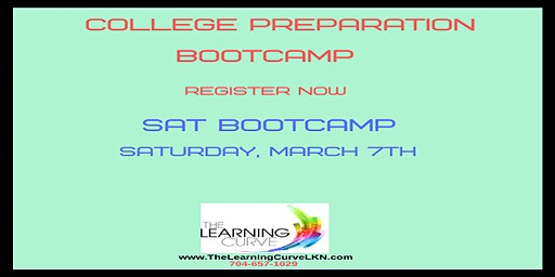SAT Bootcamp, Saturday, March 7, 2020