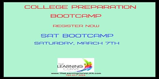 SAT Bootcamp, Saturday, March 7, 2020