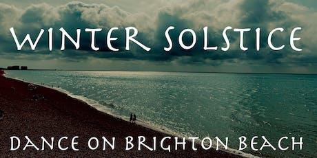 5Rhythms dance on Brighton Beach - Winter Solstice special tickets