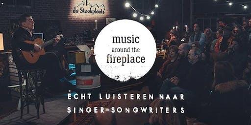 Music around the fireplace╳YVI╳Ashtyn Barbaree╳Renée Spijker