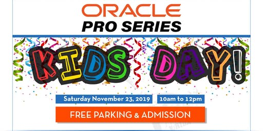 Oracle Pro Series Tennis Kid's Day