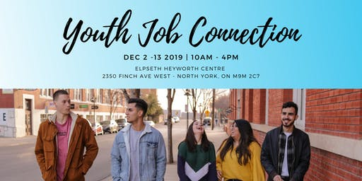 Youth Job Connection Program (paid pre-employment - $14/Hr)