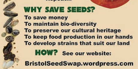 Bristol Seed Swap 2020 tickets