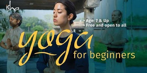 FREE Yoga for Beginners - Ages 7+