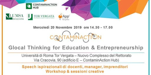 Glocal Thinking for Education & Entrepreneurship