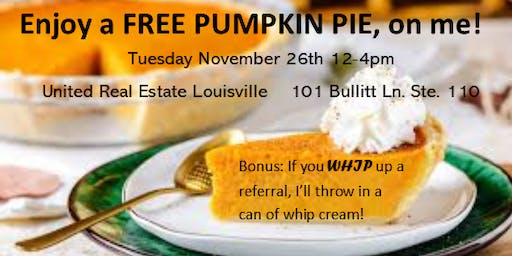 Client Appriciation Event-Free Pie Giveaway