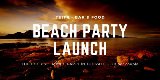 Beach Party Launch