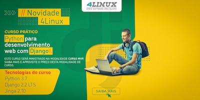 Curso: Python para desenvolvimento web com Django - 4Linux